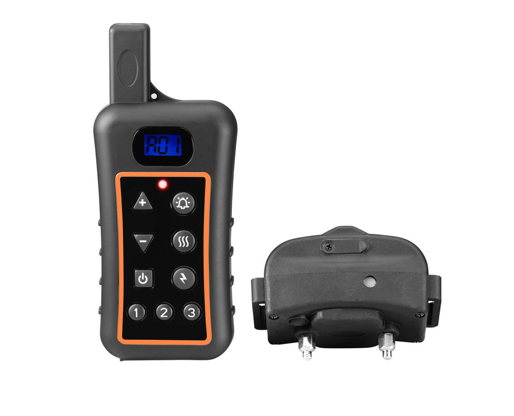 1200v Remote Control Dog Training Collar Trainertec